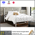 hotel metal bed frame king size with slats