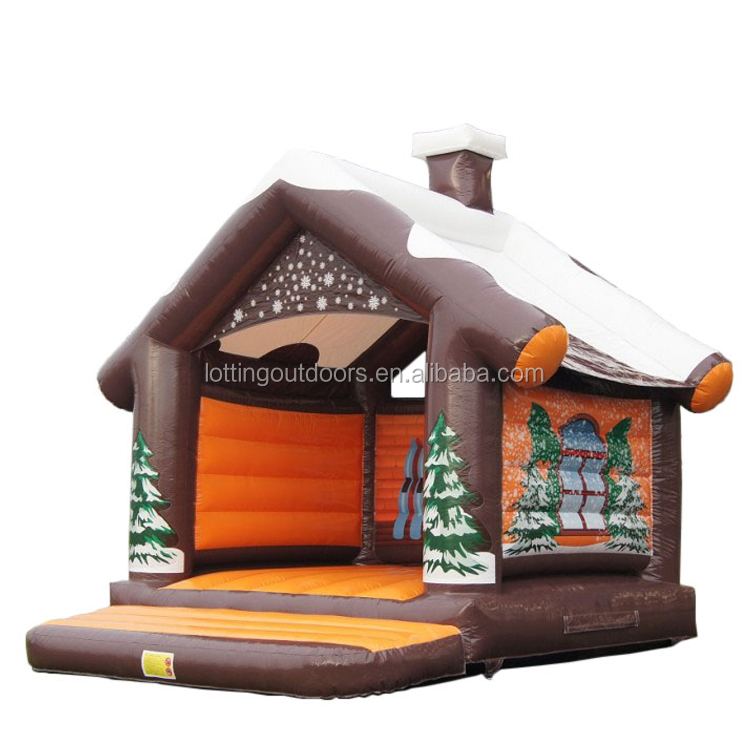2017 Xmas <strong>inflatable</strong> christmas carousel jumping castle <strong>inflatable</strong> outdoor