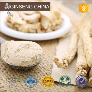 Professional Supply Top Quality Dried Ginseng Powder Root Prices P.E.