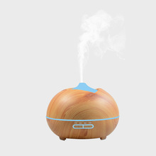 300ML wood grain electric aromatherapy ultrasonic aroma essential oil diffuser