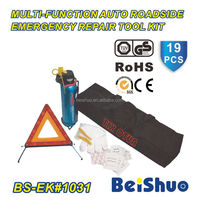 Roadside emergency car/vehicle repair tool kit