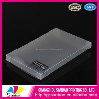 Wholesale post cards packaging PP box with your logo