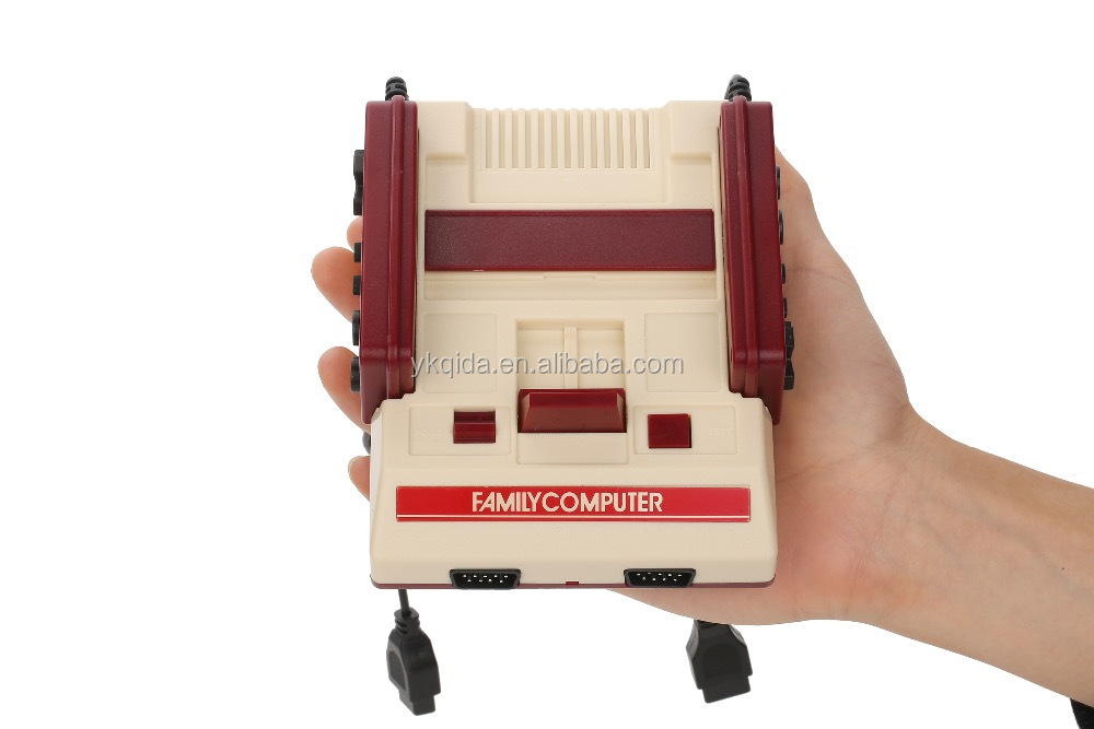 Japan RTT amazing family computer nostalgic RS-36 Mini FC Video Game console replica Retro Red support two player on TV