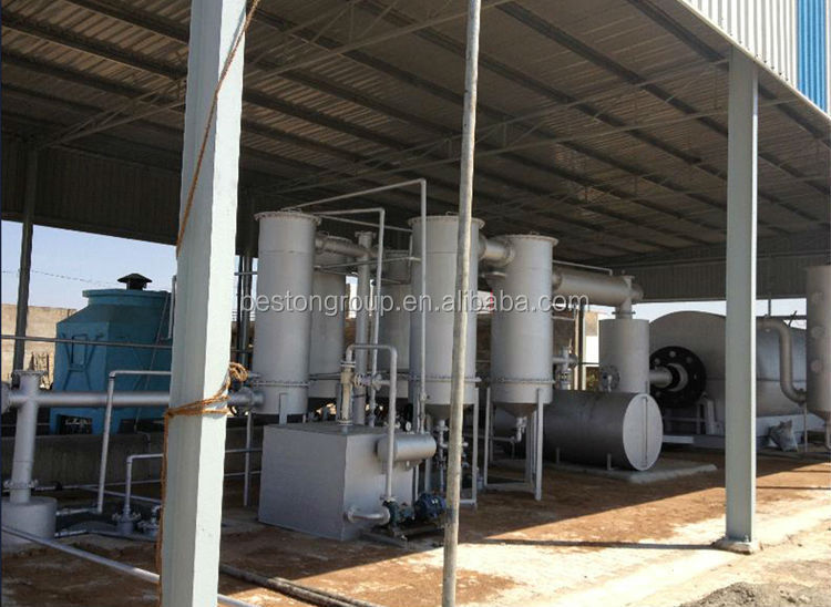 High-efficiency waste plastic recycling pyrolysis, 2015 the latest environmental protection equipment