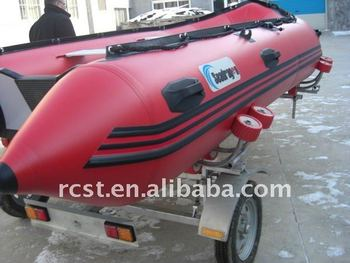 foldable boat trailer