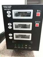 three phase 15KVA voltage stabilizer 380V servo motor AVR