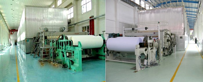 copy paper processing machinery