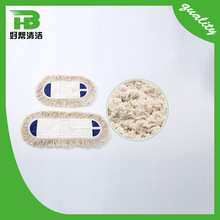 Hot Selling Floor Cleaning Cotton Yarn Mop Part, Wet Mop Replacement Pad
