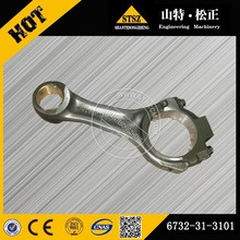 Excavator part on PC75UU-3/ PC60-7 engine SAA4D102E piston connecting rod of 6732-31-3101