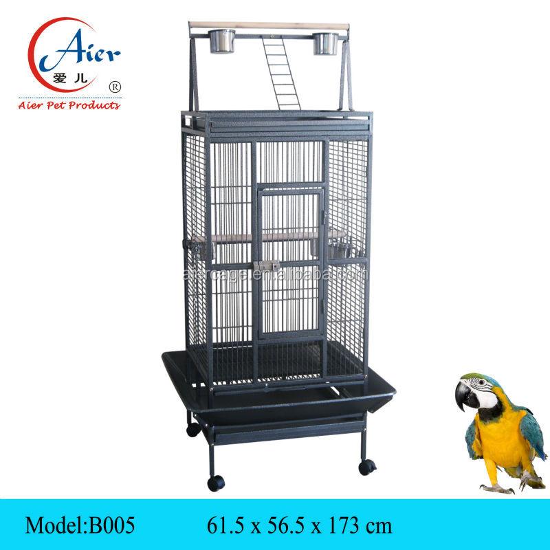 m tal cage perroquet d 39 oiseaux finch cages vendre cage caisse transporteur maison pour. Black Bedroom Furniture Sets. Home Design Ideas