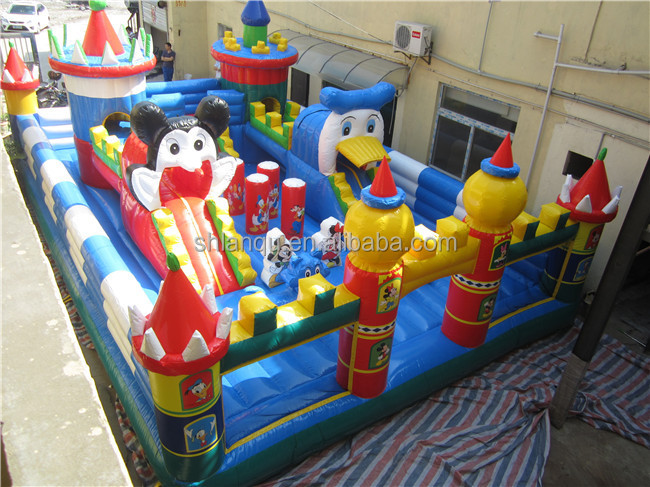 Micky giant inflatable castle inflatable bouncer bouncy castle