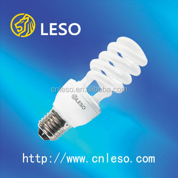 Alibaba hot selling CFL 65W/ 85W half Spiral Normal 14MM