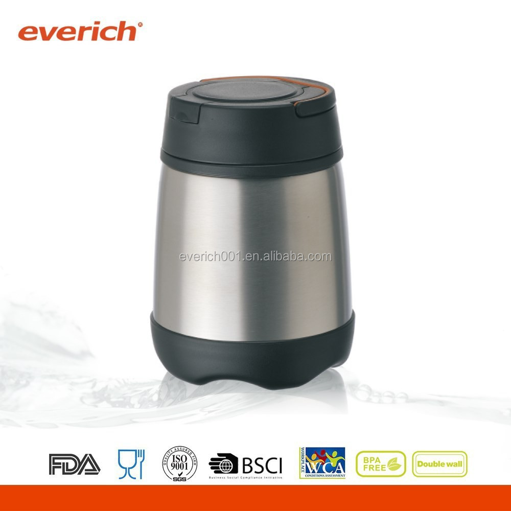350ml Stainless Steel Insulated Food Container With Spoon Inside