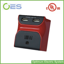 Top Quality UL Listed usa Type Electrical Travel Plug Adapter with USB Port