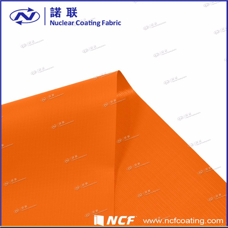 Long Serve Life Water proof Orange Pvc Tarpaulin