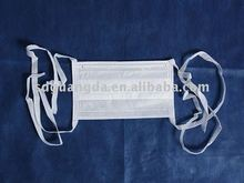 Disposable children infection tieback mask 145*95mm White