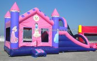 Lovely princess inflatable castles, inflatable jumping castle, bouncy castle B3039