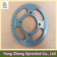 Renqiu 45# Steel FXD125 Motorcycle Sprocket Set