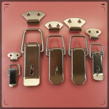 All kinds of size padlock hasp lock, toggle latch lock, medical cabinet lock spring clip