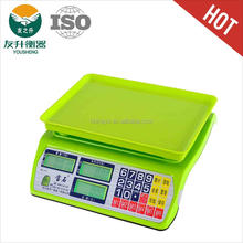 Full ABS Materials Price Digital Weight Scale,High Quality 4V4A Rechargable Battery And Sensitive Load Cell,40kg Capacity