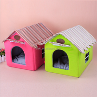 The New Stripe Tent Dog House Resistance Soiling Large Dog House For Sale