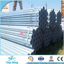 Alibaba china ASTM A36 1.5 inch fencing Galvanized Steel Pipe / Tube Manufacturer for greenhouse