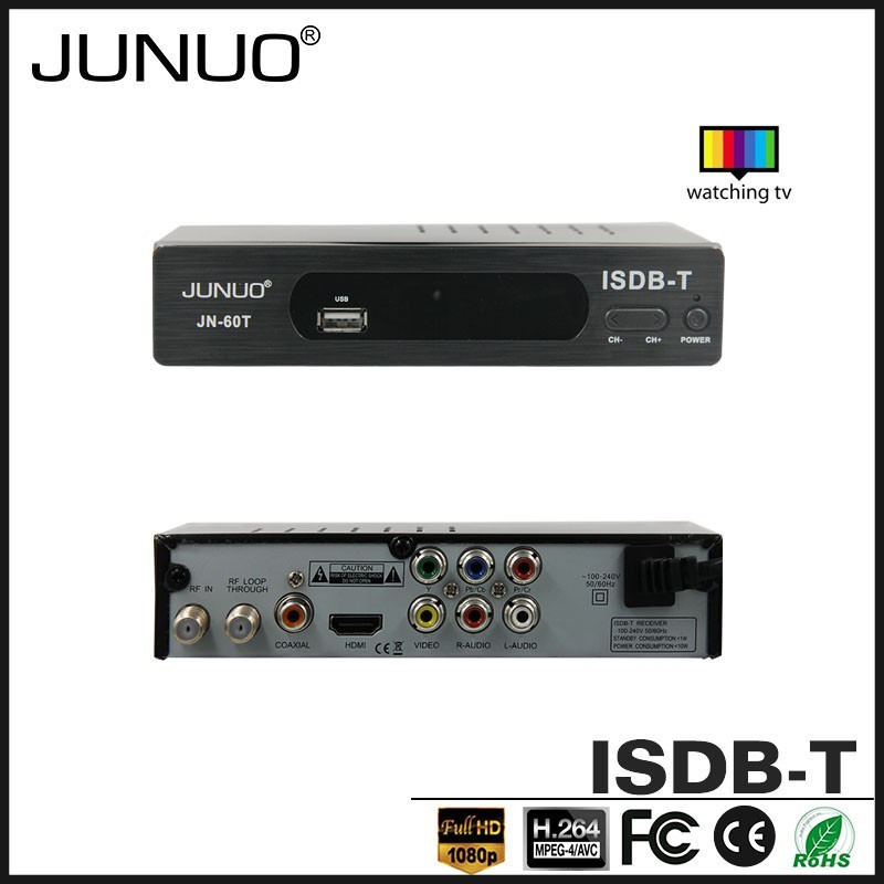2016 low price isdb-t receiver mstar 7805 chipset isdb-t set top box