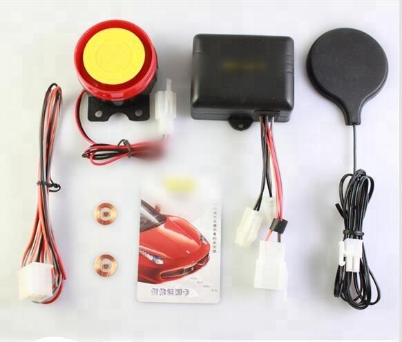 sistema inteligente de inducci/ón sistema de alarma de seguridad antirrobo Alarma antirrobo para motocicleta sistema de inmovilizador de entrada sin llave sensor de alarma invisible