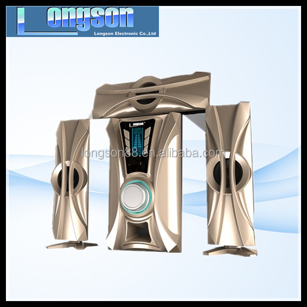 Active multimedia 3.1 speaker,active subwoofer with high quality