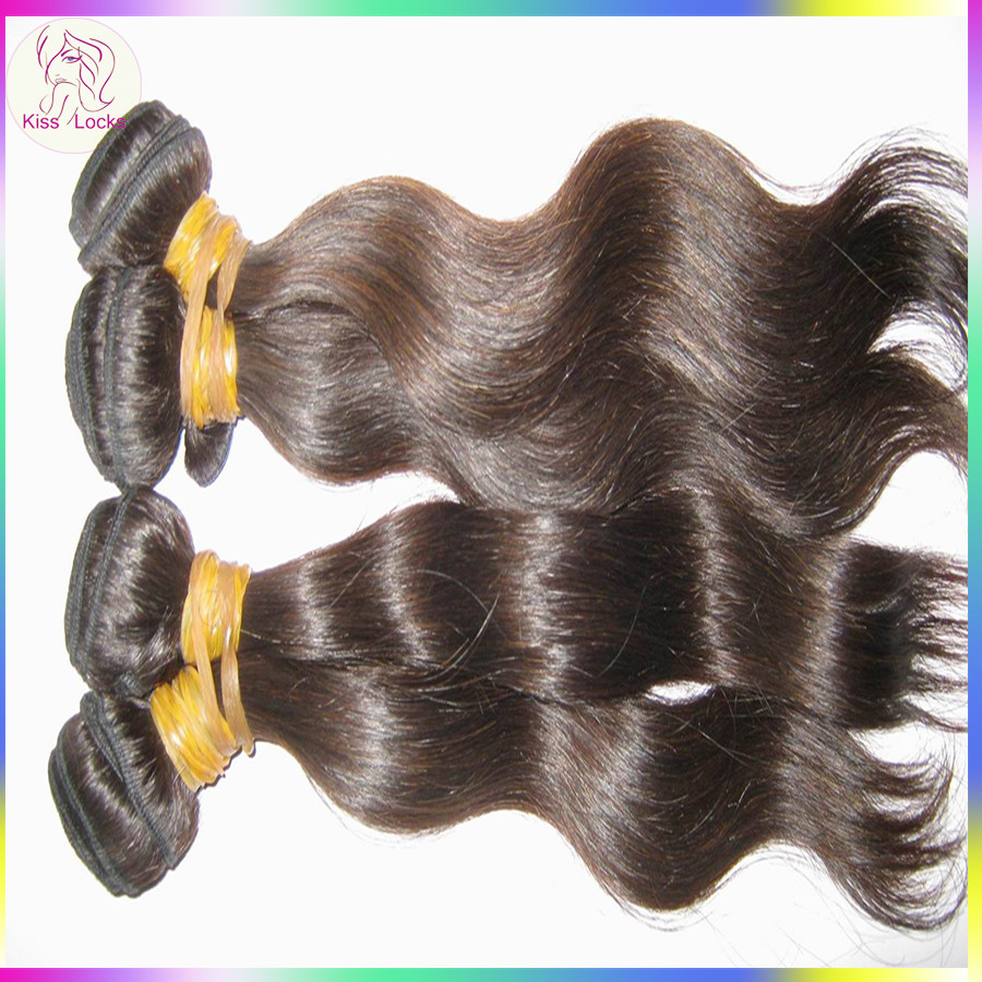New Products South East Asia RAW Wavy Cambodian Human Hair Extension Dark Brown Silky Bundles Guangzhou
