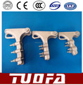 NLL strain clamp bolted type, tension clamp for overhead line hardwares