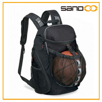 2016 China factory customized basketball backpack, Leisure backpack basketball