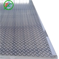 Aluminum Tread Plate / Coil 5 Bar Chequered Embossed Sheet Plate