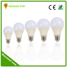 2015 New led bulb light smd color changeable led bulb 7w,e27 led bulb light ,7w led bulb e27