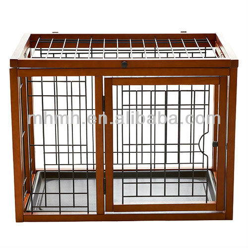 Foldable Wooden Dog Cage