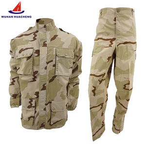Digital desert Camouflage Suit Military uniform Rip-stop breathable fabric security uniform customized