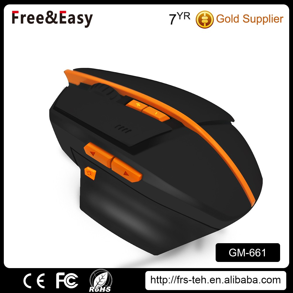 High Precision 7D 2400DPI desktop computer glowing gaming mouse
