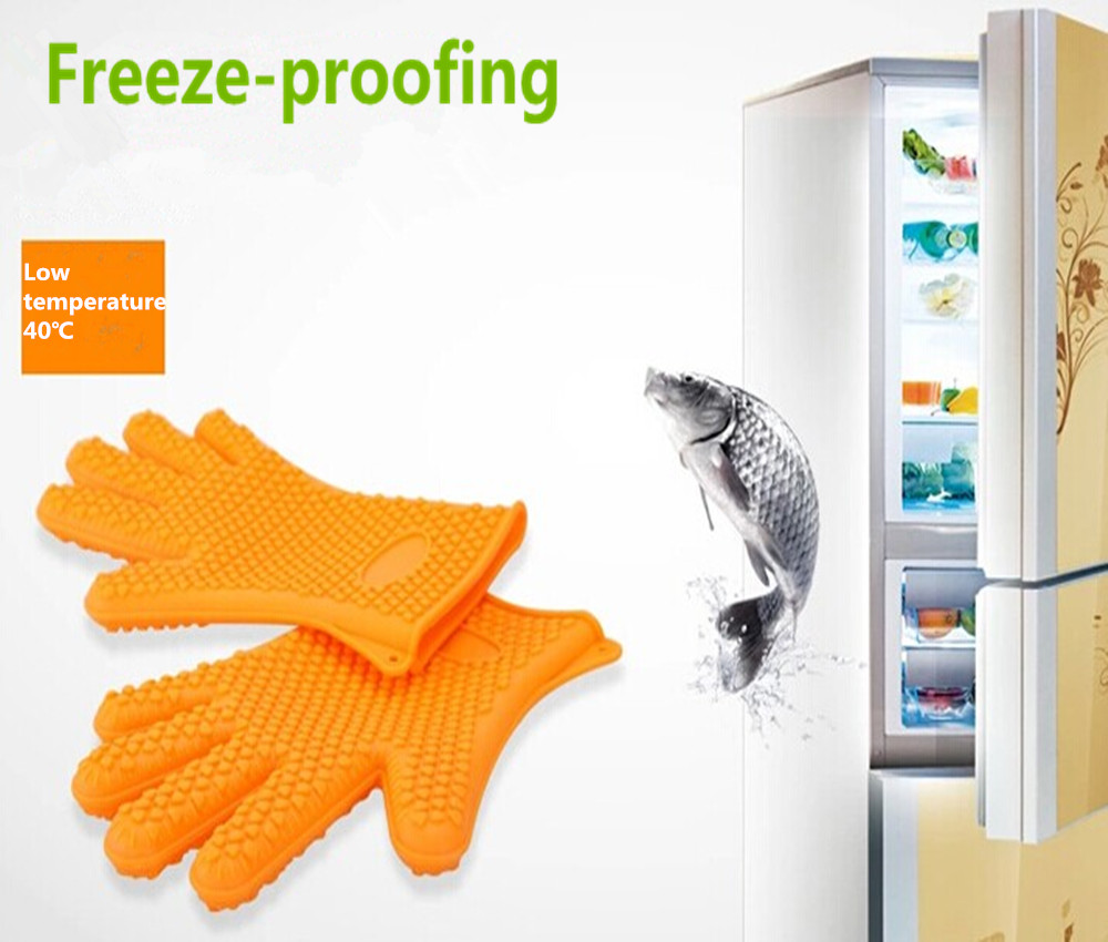 food grade silcone finger protector oven bbq grill mitt items for Heat Resistant Grilling patent