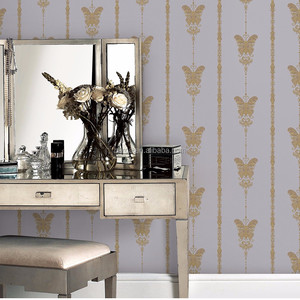 Factory Newest 3d korea wallpaper 500g Deep Embossed PVC 3D Wallpaper