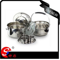 Magical Stainless Steel No Fire re-cooking pot / Energy Saving Pot / Hot Thermal Pot