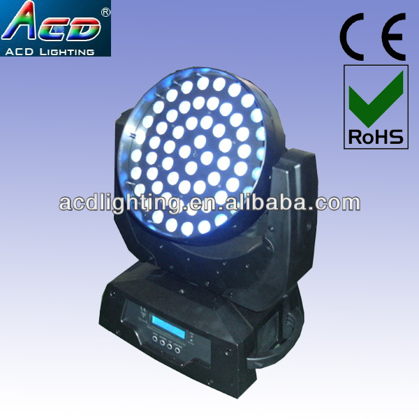 high power 60*3in1 RGB tri color stage led moving head light fixture