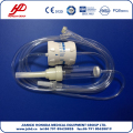 CE and ISO approved flow regulator infusion set