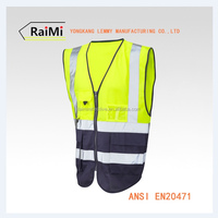 Wholesale Clothing Vest Security Real Work Wear Uniform Reflective Safety Vest