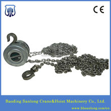 Stainless steel 304 manual hoist / stainless steel 304 chain block