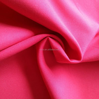 Brushed Dyed 100% Polyester Microfiber Fabric Plain Weaving