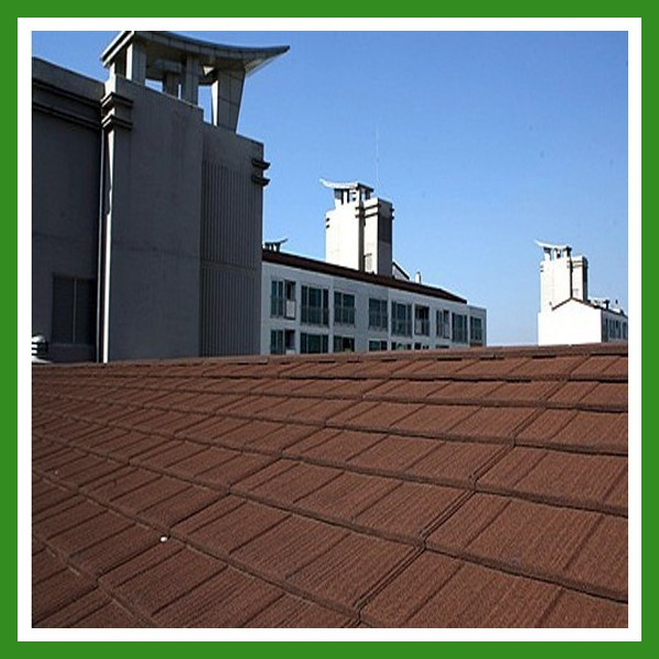 Cheap Stone Coated Metal Roof Tile price/Metal Roof Tile Manufacturer/Fuda Brand Colorful Roof Tile