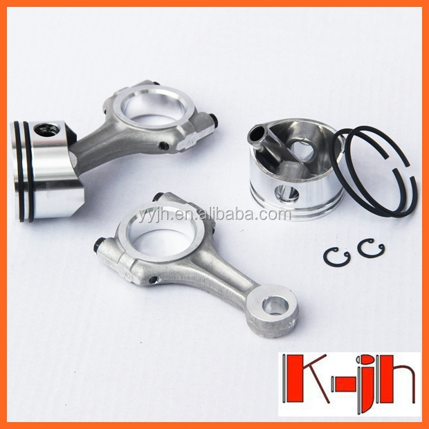 Alibaba website bus spare parts piston rings set/ bock fk 40 compressor piston pin with connecting rod /wholesale connecting