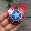 Factory Wholesale Fidget Spinner Shield Captain