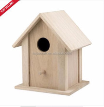 Bojia Factory Price Garden wooden bird cage /Bird house