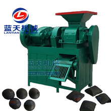 Charcoal powder coal dust granule roller press making machine